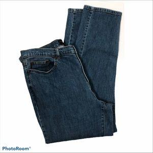 Venezia Relaxed Straight Leg Jeans Blue Size 20